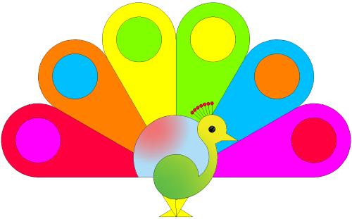Rainbow Peacock – Der Regenbogen Pfau